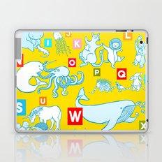Yellow Alphabet Laptop & iPad Skin