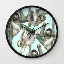 Hang. In. There. Wall Clock