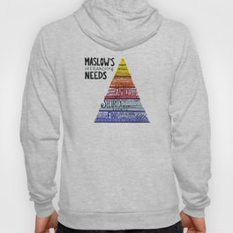 Maslow's Hierarchy of Needs I Hoody