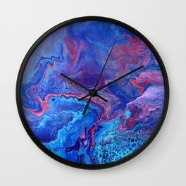 Topography of the Imagination Wall Clock