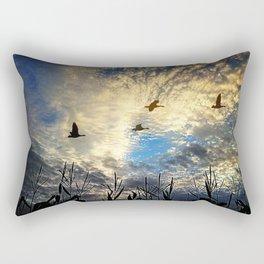 Peaceful morning Rectangular Pillow