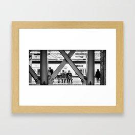 Densha Otoko Framed Art Print
