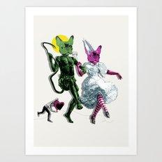Dance, Chauncey, Dance - French Bulldog Art Print