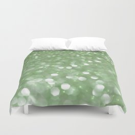 Holiday Mint Duvet Cover