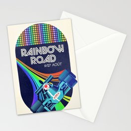 Rainbow Road Grand Prix Stationery Cards