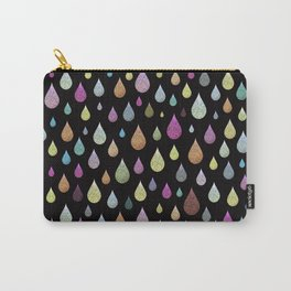 Glitter Rain Carry-All Pouch
