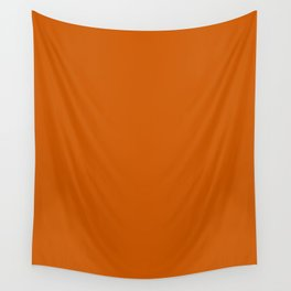 Tenné (tawny) - solid color Wall Tapestry