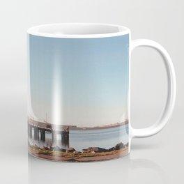 Dock With Mill-Film Camera Coffee Mug