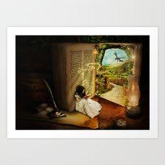 The Book Of Secrets Art Print