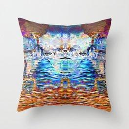 Infinite Abundance Throw Pillow