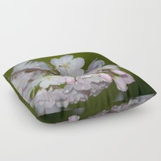 Saratoga Cherry Blossoms Floor Pillow