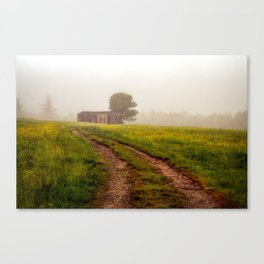 One Room Country Shack Canvas Print