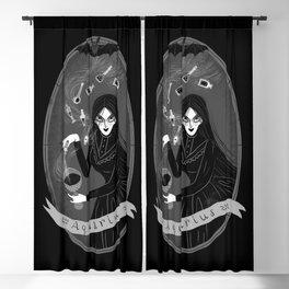 Aquarius Witchy Zodiac Blackout Curtain
