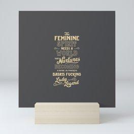 Feminine Spirit Mini Art Print