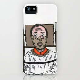 Hannibal Lecter iPhone Case