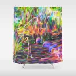 Inspirational Flow Shower Curtain