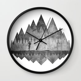 Trailrunning Wall Clock
