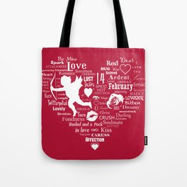The Red Heart Tote Bag