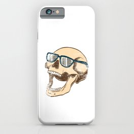 "Happy Halloween Shirt For October November Skully ""Skull Squad"" T-shirt Design Creepy Spooky iPhone Case"