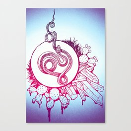 Snake Spirit Canvas Print