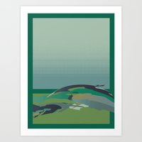 Art Print featuring The Lump in the Earth  by Rachel Gottesman