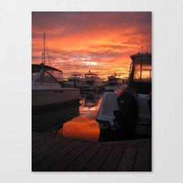Washington Sunset Canvas Print