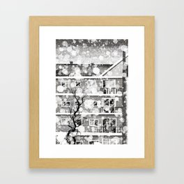 Places I've Lived Series - 7 Framed Art Print