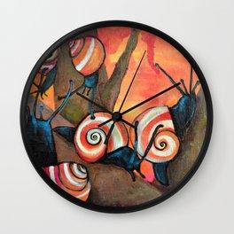 Dreamsicles Wall Clock