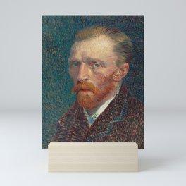 Vincent Van Gogh Self Portrait 1887 Mini Art Print