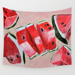 Fruit, watermelon, summer Wall Tapestry