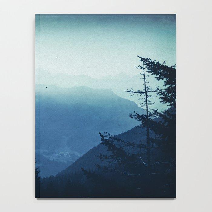Blue Valmalenco - Alps at sunrise Notebook
