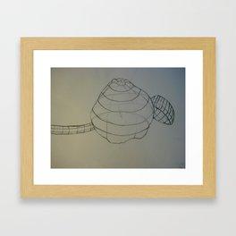 Squash and Ladle Framed Art Print