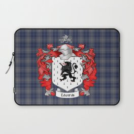 Edwards Crest and Tartan Laptop Sleeve