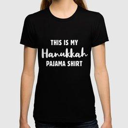 This Is My Hanukkah Pajama, Funny Happy Hanukkah T-shirt