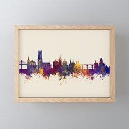 Fribourg Switzerland Skyline Framed Mini Art Print