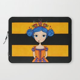 River the Tea Girl Laptop Sleeve
