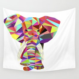 Emil Elephant Wall Tapestry