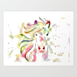 Color me Pony Art Print