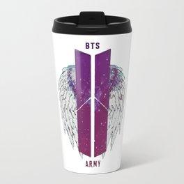 BTS Flowers Logo Travel Mug