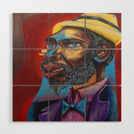 Thelonious Monk Wood Wall Art