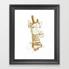 Nga Bilé Framed Art Print