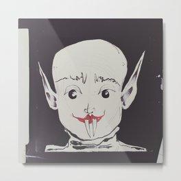 Nosferatu and u. Metal Print
