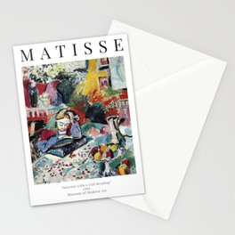 Interior with a Girl Reading - Henri Matisse - Exhibition Poster Stationery Cards