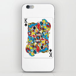 King Of Spades iPhone Skin