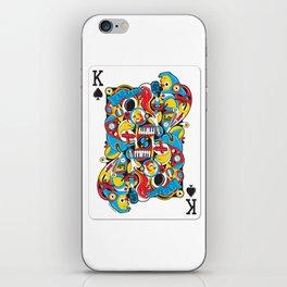 King Of Spades iPhone Skin