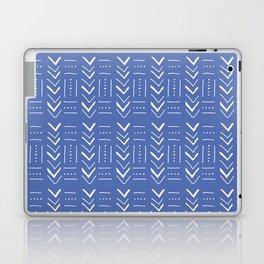 Geometric on dark blue ground Laptop & iPad Skin