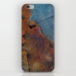 Colored Wood iPhone Skin