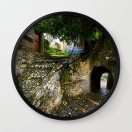 Silent Paths Wall Clock
