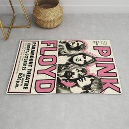 PinkFloyd Meddle Concert Tour 1971 (digitalized) Rug