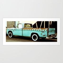 Rusty Dodge (2) Art Print